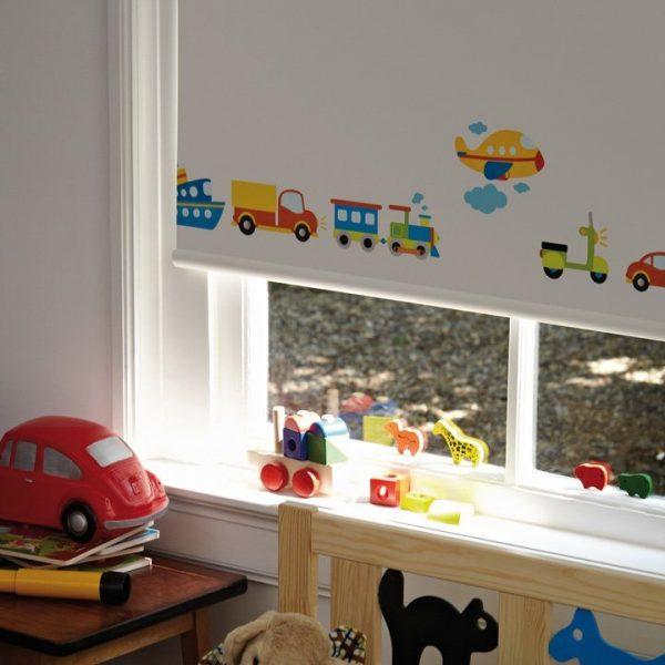 וילון מודפס לחדר ילדים