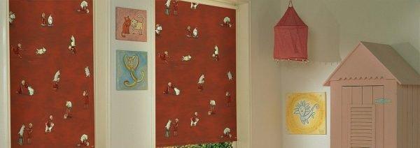 וילונות מודפסים חדר תינוק