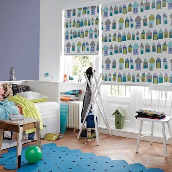 וילונות עם הדפס לחדר הילדים