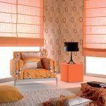 וילונות לסלון בעיצוב ים תיכוני