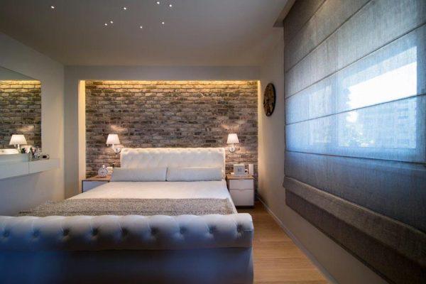 דוגמא וילון חדר שינה
