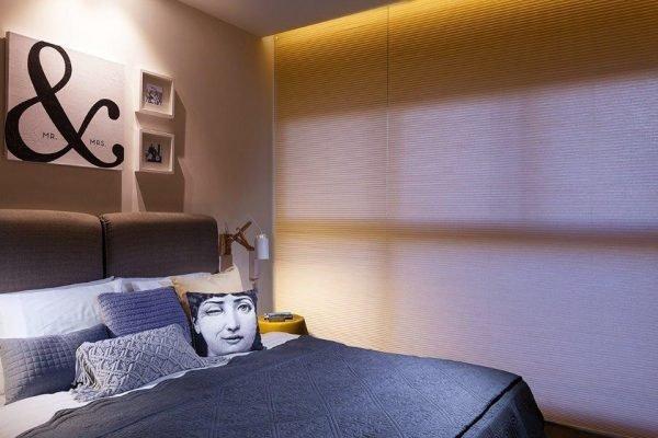 וילון חדר שינה