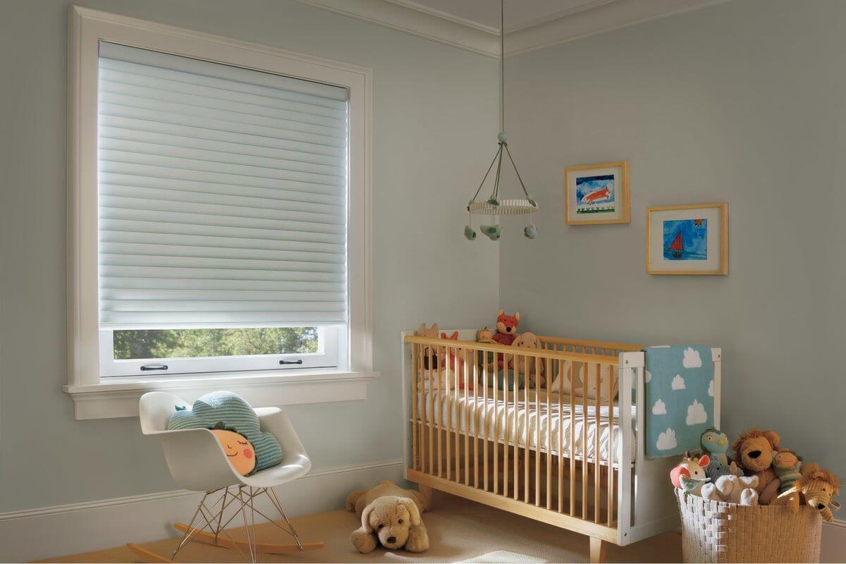 וילון סילואט לחדר התינוק